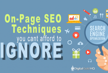 On-Page SEO Techniques You Can't Afford To Ignore