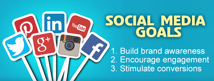 Set clear social media marketing goals for all of your campaigns